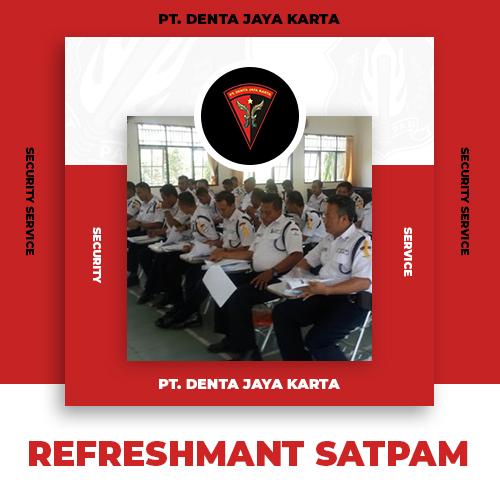 4 Refreshmant Satpam
